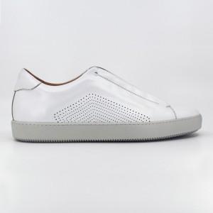 Walter Beyaz Deri Erkek Casual Ayakkabı