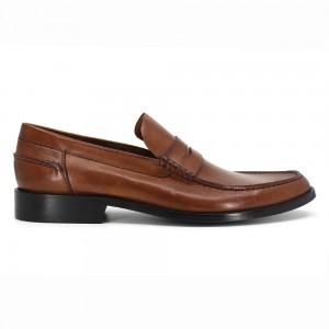 Clayton Taba Deri Erkek Loafer Ayakkabı