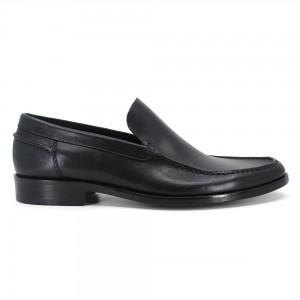 Danovan Siyah Deri Erkek Makosen Ayakkabı