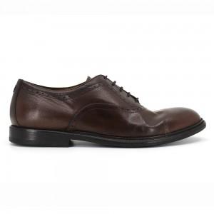 Andrew Kahve Deri Erkek Oxford Ayakkabı
