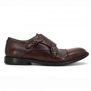 Bernard Kahve Deri Erkek Klasik Ayakkabı