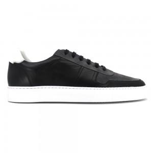 Jersey Siyah Deri Erkek Spor & Sneakers
