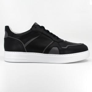 Alex Siyah Deri Erkek Spor & Sneakers