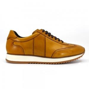 Clif Hardal Rengi Deri Erkek Spor & Sneakers